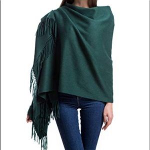 Krown Cashmere scarf - hunter Green NWT